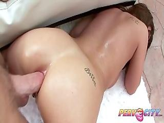 Pervcity Slut Halie James Poolside Sodomy