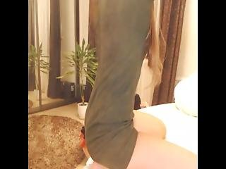Live Sex Shaved Readhead Undressing P1