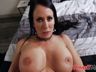 Reagan Foxx Has Huge Titties To Please Her Stepson When Daddy Is Gone