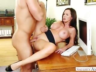 Nikki In The Office