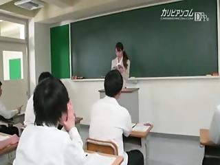 Classroom, Teacher, Vibrator