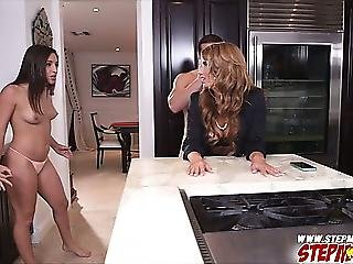 Next Level Fucking With Gf And Stepmom