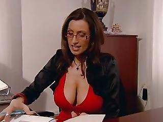 Big Tit, Blowjob, Handjob, Hardcore, Secretary