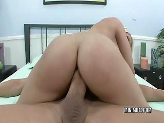 Petite Hottie Madison Ivy Gets Her Tiny Pussy Pounded