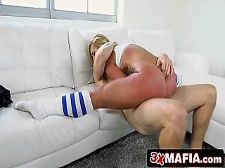 Bubble Butt Kelsi Monroe Taking Lucky Dude To Booty Heaven
