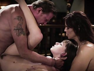 Virgin Teen Alex Blake 3some With Fake Parents