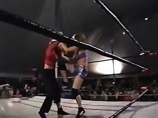 Candie Vs Tara Womens Hardcore Match
