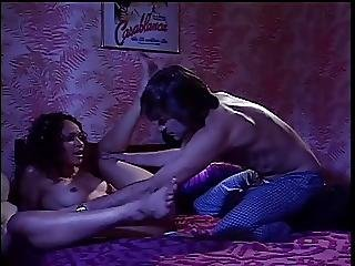 Curly Haired Black Chick Gets Fucked In Bed