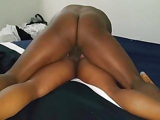 Amateur, Ass, Ass Lick, Black, Butt, Doggystyle, Ebony, Hat, Lick