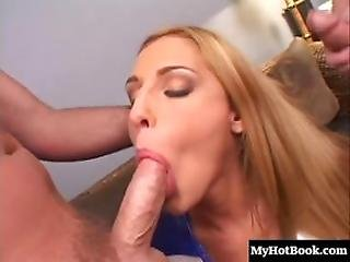 Finally, Beautiful Blonde Lauren Phoenix Gets Slammed, Banged, Violated And Even Dpd Into