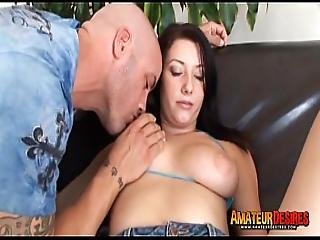 Brunette Jasmine Fucks Big Dick