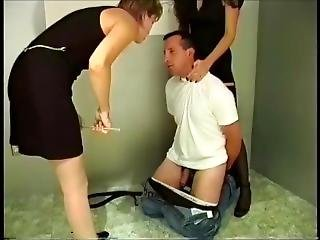 Old Vk Russian Ballbusting