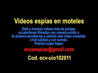 Gordita Ecuatoriana En Motel