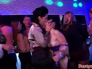 Party Amateur Cocksucking Bbc On The Dancefloor