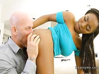 Ebony Teen Bangs Her Bros Friend