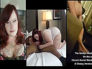 Asstyn Martyn Interview And Bbw Black Cock Suck And Fuck Show