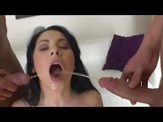 triootje, ejaculatie, gangbang, pis, pissen, porno ster
