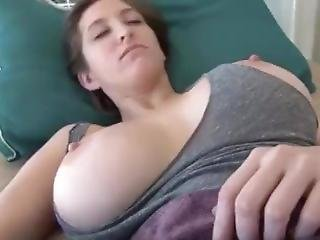 Girl Gets Cum On Face While Sleeping