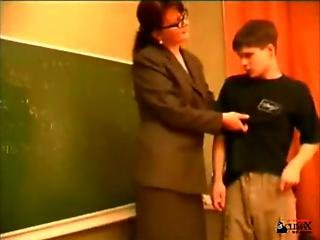 Russian teacher porn tube video