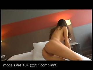 18 Years Old Lucie Teen First Casting