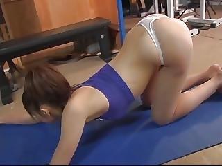 Fitness, Japonské, Softcore, mladý Holky