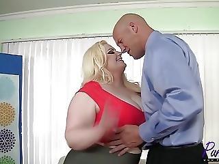 Beautiful Bbw Klaudia Kelly Enjoys A Big Dick