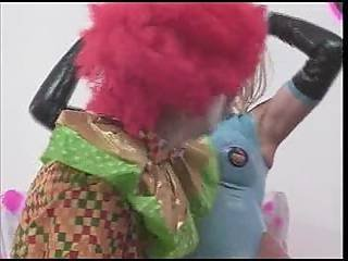 Klown, śmieszne, Lateks, Pończocha