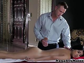 Massage Babe Megan Salinas Pussyfucked