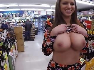 Brooklyn Big Tits Nude In The Store On Ftvmilfs.com