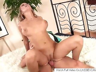 Beautiful Milf With Amazing Boobs Fucked Hard