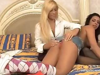 Tasha Reign Is Lesbian Strapon Anal Fun