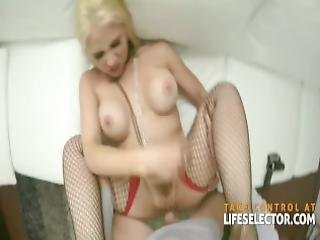 Sarah Vandella Blonde Babe Is Cockhungry