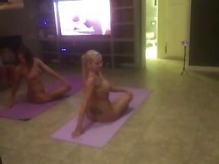 Naked Yoga With Adriana Chechik