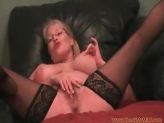 Check My Milf, Mature With Huge Hanging Milk Jugs