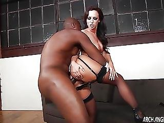 Jada Stevens Welcomes Monster Black Cock In Her Ass