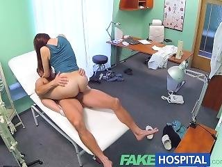 Fakehospital Horny Sexy Slim Patient Wants Doctors Cock After Catching Him