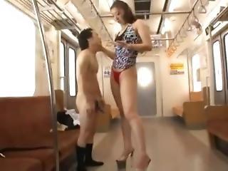 Super Tall Japanese Blow Job