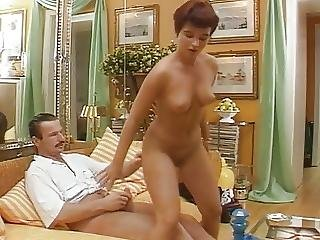 Blowjob, Cumshot, German, Handjob, Short Hair