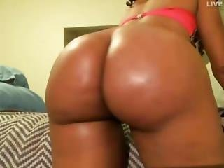 Ass, Ebony, Hat, Webcam