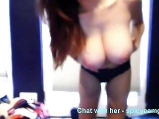 ερασιτεχνικό, κώλος, μεγάλος κώλος, μεγάλο βυζί, βυζί, Cam Girl, πορνοστάρ, Webcam