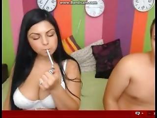 Cam Couple - Smoking Sex