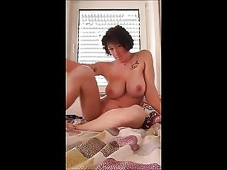 Big Natural Tits Masturbating Again