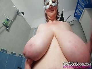 Soaped Up Slippery Saggers - 4k Tits