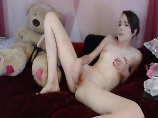 Stunning Teen With Nose Piercings Fucks A Teddy Bear Mp4