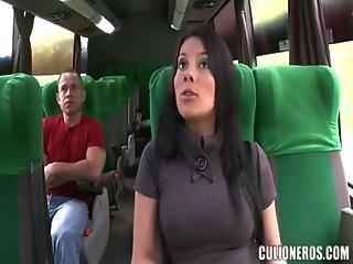 Juliana Fucked On The Bus