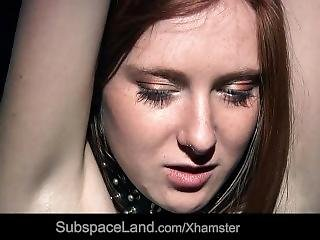 Bdsm Punishment Desires With Captive Redhead Young Slave