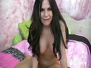 Milf Stormy Evans Wants You To Cum On Her Tits - Joi