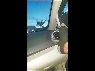 Playing With Her Pussy In Parking Lot!!!