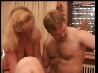 German Straight Bear Sex With Two Slut,