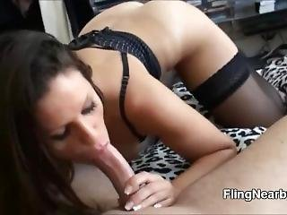 Hooker From The Internet Sucking My Dick And Riding Me